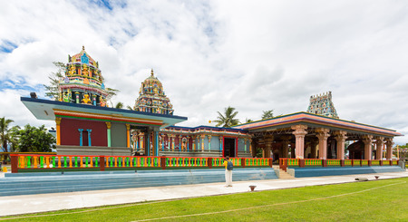 Sri Siva Subramaniya Hindu temple, Nadi, Fiji islands, Melanesia, Oceania, South Pacific Ocean. TISI Sangam (Then India Sanmarga Ikya Sangam) 写真素材