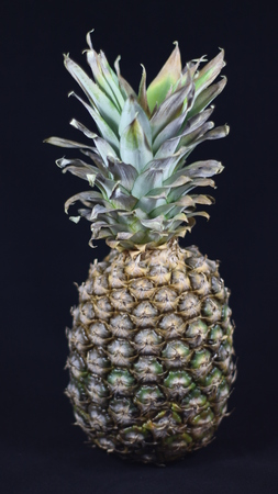 Delicious pineapple that looks great and that is very good.