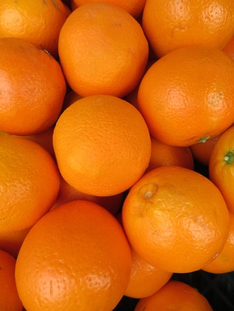 Beautiful oranges from an incredible color and a delicious flavor Imagens