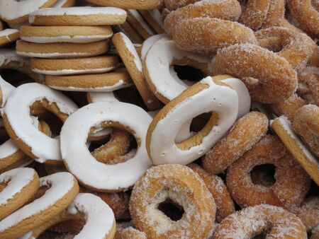 Beautiful delicious donuts and very good of great taste