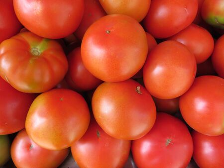 Beautiful tomatoes of nice color and delicious taste