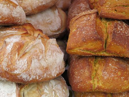 Beautiful breads of great flavor and color to the delicious