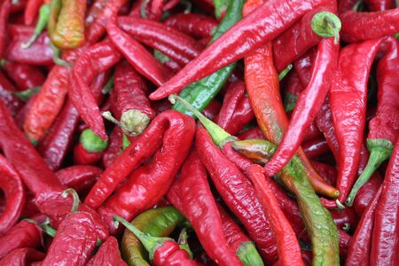 Chili of extraordinary beautiful color and delicious taste