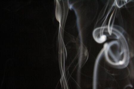 Aroma incense smoke ethereal odor slight figure