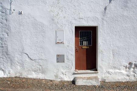 prespective: old typical door
