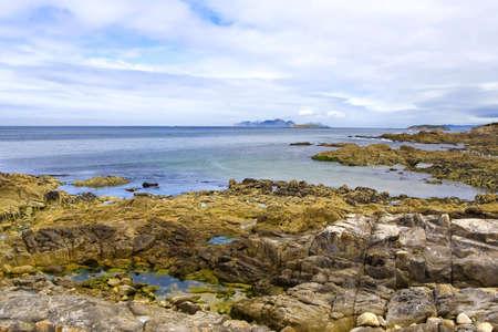 northern spain: coastline landscape in northern spain