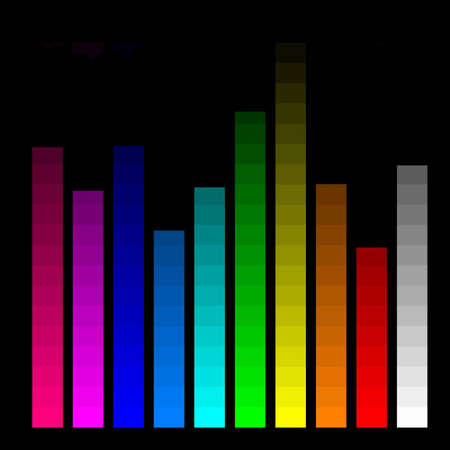 color bars for monitor calibration Stock Photo - 2988823