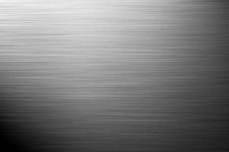aluminium silver background - landscape orientation Stock Photo