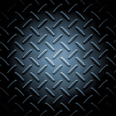 Metallic plate texture background - square format Stock Photo - 4341911