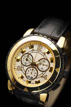 chronograph: swiss watch