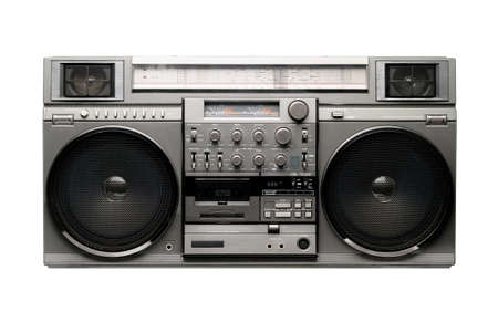 boombox: Big Boombox from 1980s