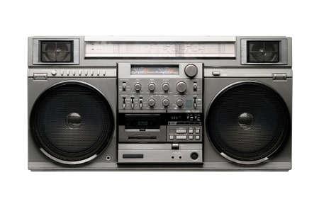 equipo de sonido: Gran Boombox desde los años 1980