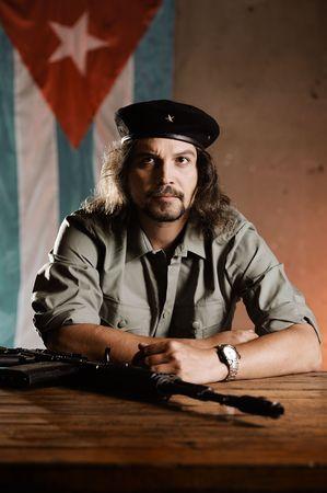guerilla: Che. Hasta la Victoria Stock Photo