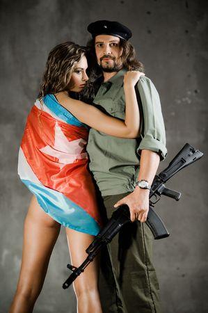 guerilla: Che. Cuba Libre Stock Photo