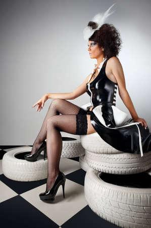 noire: La Vierge Noire Stock Photo