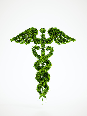 thrive: Isolated 3d render medical symbol with white background