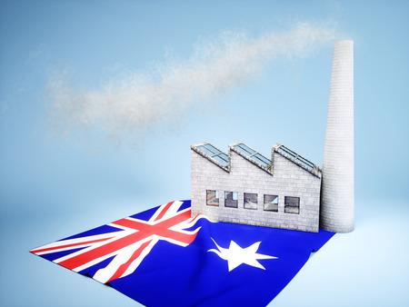 CO2 emissions: Concept of Australian industry development