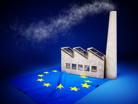 CO2 emissions: Concept of EU industry development