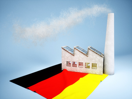 CO2 emissions: Concept of Germany industry development