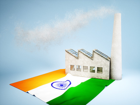 CO2 emissions: Concept of Indian industry development