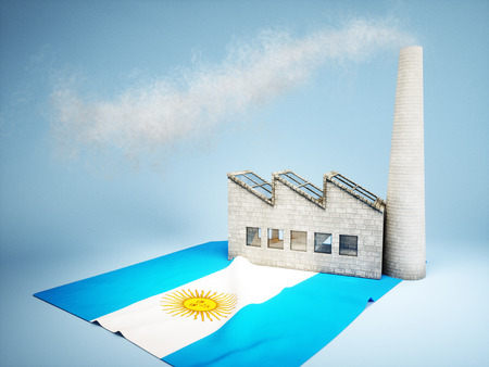 Argentinian industry development concept photo
