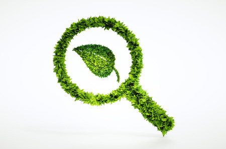 3d eco focus sign. One of larger set of high quality ecology symbols. Check my ecology set.