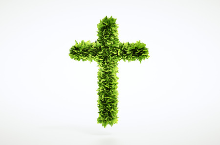 climate change: Eco christianity sign