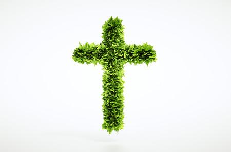 humanismo: Eco cristianismo signo Foto de archivo