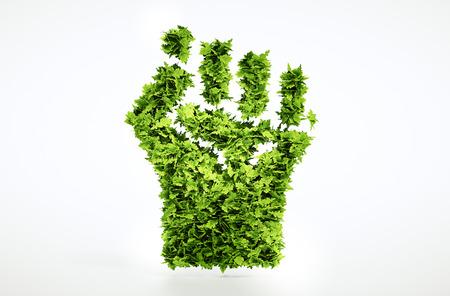 revolt: Eco revolt sign   Stock Photo
