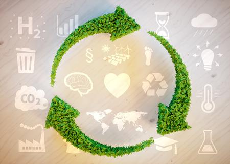 kwaśne deszcze: Sustainable development concept