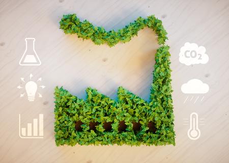 kwaśne deszcze: Green factory concept