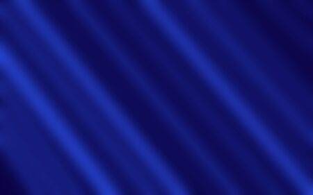 Lines and abstract wavy surface in blue. Abstraction for postcard, website design, announcements. Blue banner design