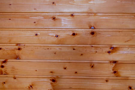 Wood texture, red background. Wooden boards. 免版税图像