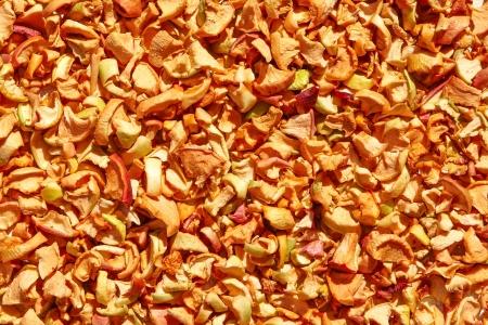 nutrients: Org�nicos secos manzanas de frutas saludables. Lleno de nutrientes como vitaminas, minerales, carbohidratos, antioxidantes, y fibra dietry