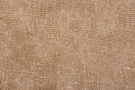 sackcloth bagging textured background closeup  photo