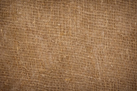 bagging: sackcloth bagging textured background closeup