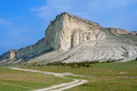 White cliff. Crimea. Ukraine  photo