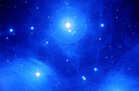星雲 写真素材