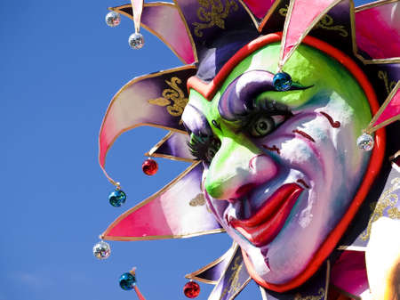 Detail from a float at the International Carnival of Malta 2009
