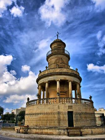 The Belvedere Tower in the village of Lija in Malta