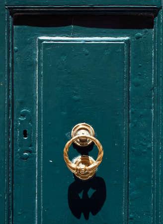 Medieval door knocker in the old city of Mdina in Malta Stock Photo - 6456011
