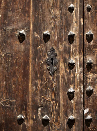 doorlock: Medieval doorlock in the old city of Mdina in Malta