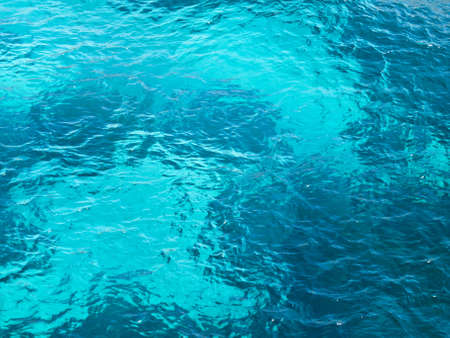 Crystal clear aquamarine ocean water texture Stock Photo - 7848902