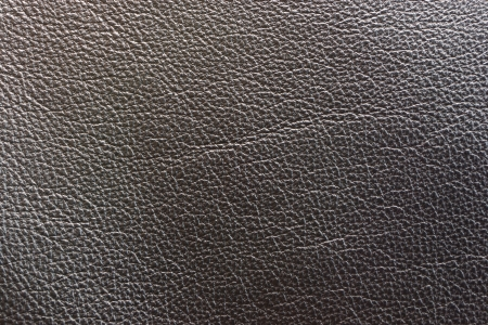Leather cloth of dark tones for clothes and furniture, for other subjects, a background and texture photo