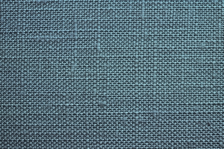 dense mats: Texture of rough dense fabric for an azure background and abstract wallpaper, a closeup