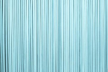 cylindrical: la texture di sfondo astratto da bastoncini cilindrici di legno di colore blu Archivio Fotografico