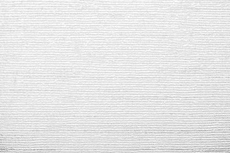 紙の壁紙の白い色の抽象的な背景のため、捺印されたビニールの表面と水平の段ボールのテクスチャ