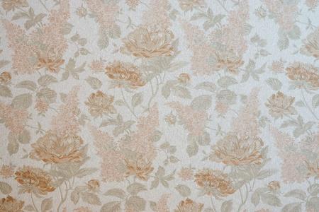 flower patterns: de abstracte geweven achtergrond met bloemmotieven