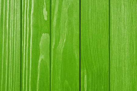 laths: abstract texture of the painted wooden surface of bright green color Stock Photo