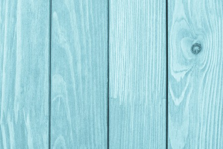 abstract texture of the painted wooden surface of azure color photo